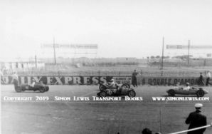 WASP 500cc . Jack Moor and others.Photo in  Silverstone paddock 1951